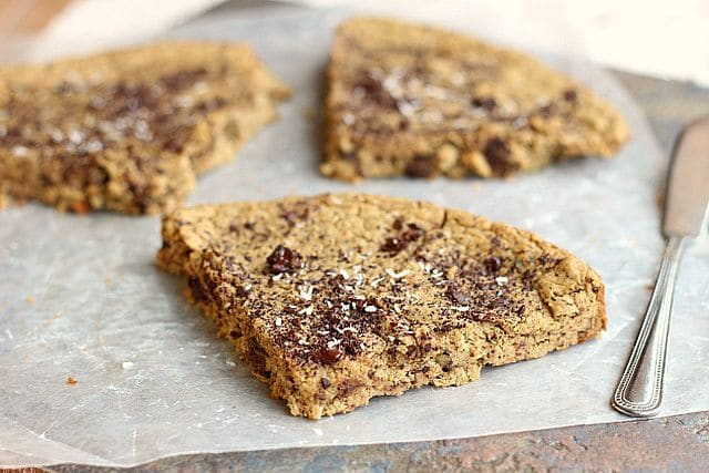 Chocolate Chip Cookie Slice (Sugar-Free, Grain-Free, Nut-Free) 3