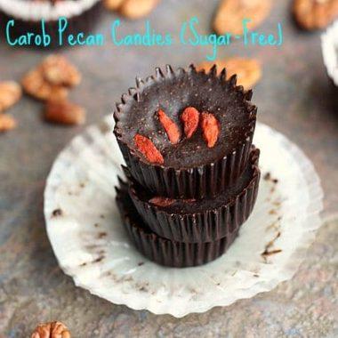Cinnamon Carob Pecan Candies (Sugar-Free)