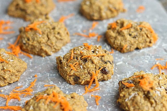 Health Nut Carrot Raisin Cookies (Sweetener-Free) 2