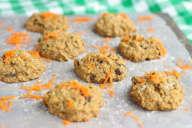 Health Nut Carrot Raisin Cookies (Sweetener-Free) 8