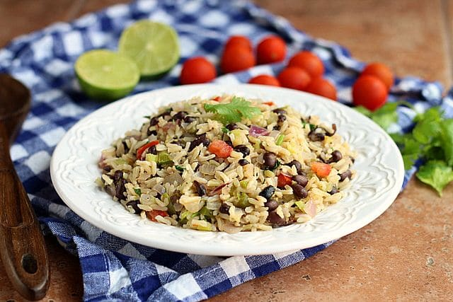 Meatless Monday Rice and Beans (Vegan) 2