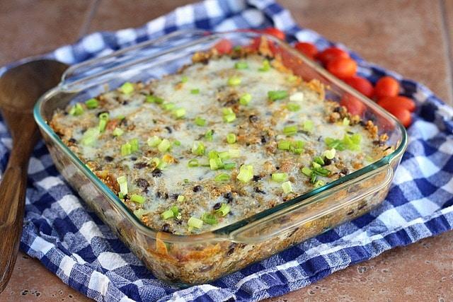 Mexican Quinoa Lasagna Casserole (Vegetarian) 2