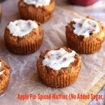 Pie-Spiced Muffins (No Added Sugar, Grain-Free) Flourless, Sugar-Free ...