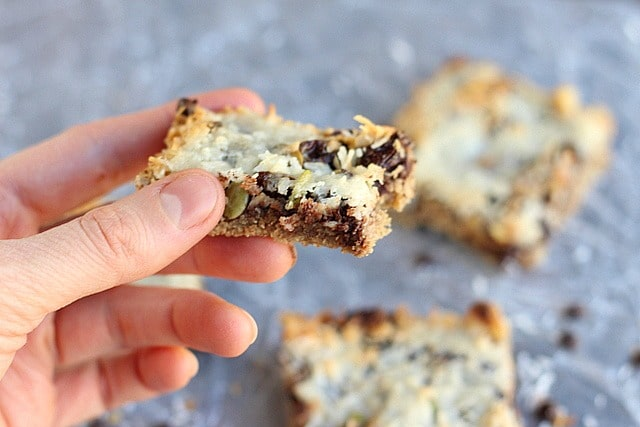 Healthy Seven-Layer Bars (Nut-Free Option) 4