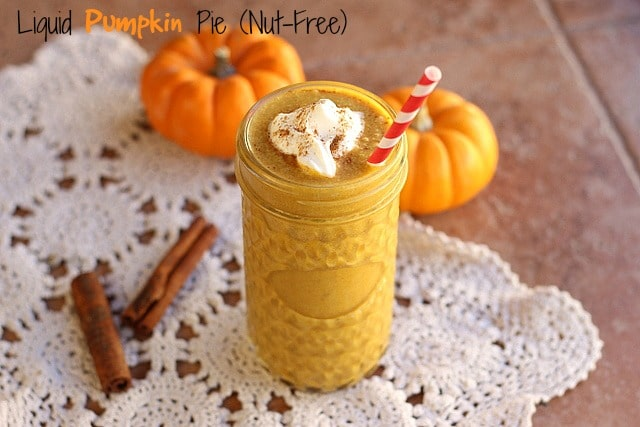Liquid Pumpkin Pie (Nut-Free)