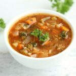 Low Calorie Spicy Cabbage Soup