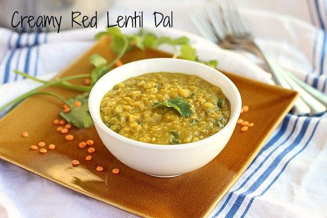 Creamy Red Lentil Dal