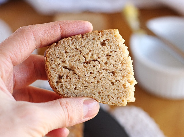 Candida-friendly bread without nuts