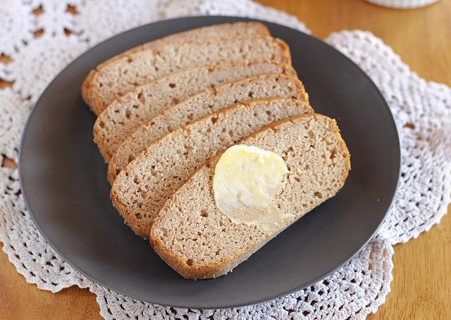 Healthy gluten-free, nut-free bread recipe