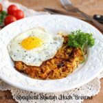 Fireball (or Not) Spaghetti Squash 'Hash Browns'