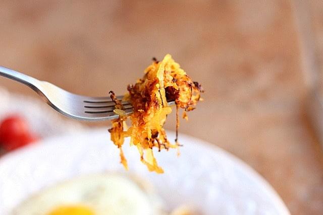 Fireball (or Not) Spaghetti Squash 'Hash Browns' 2