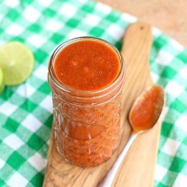 5-Minute Blender Enchilada Sauce (Flour-Free)
