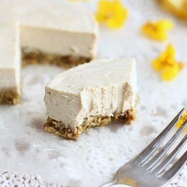 Nut-free, soy-free vegan cheesecake