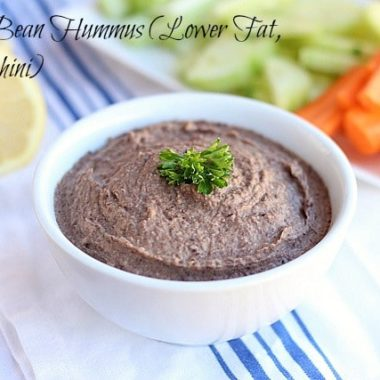 Jadie's Favorite Hummus Recipe (Lower Fat, No Tahini)