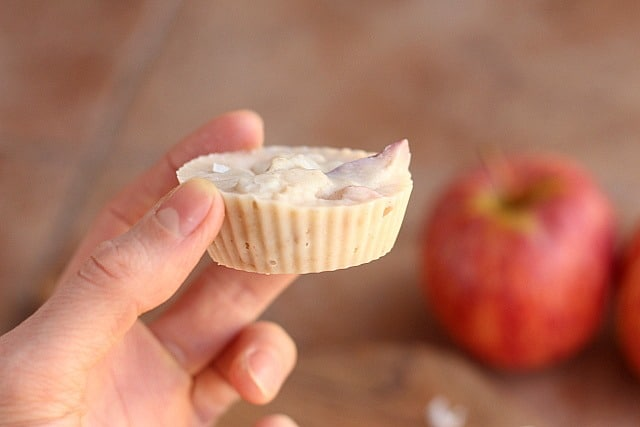 Coconut Apple Cups (No Sweetener Added) 4