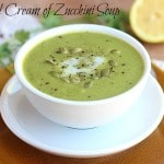 Curried Cream of Zucchini Soup
