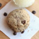 Almost Sugar-Free Buckwheat Chocolate Chip Cookies