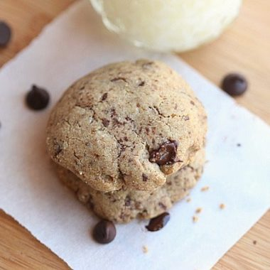 Buckwheat flour cookies
