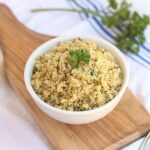 Lemon Herb Quinoa (Stove Top and Instant Pot)