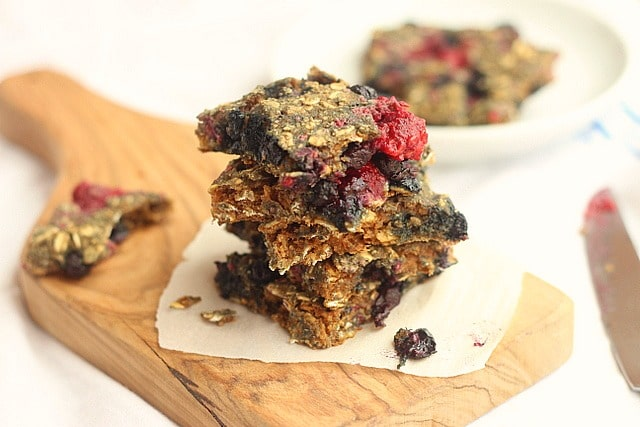 Rustic Oatmeal Berry Bread (No Added Sugar) 3