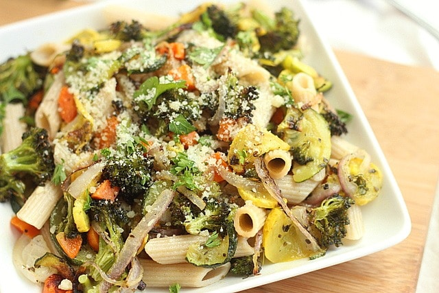 Roasted Vegetable Pasta Primavera 2