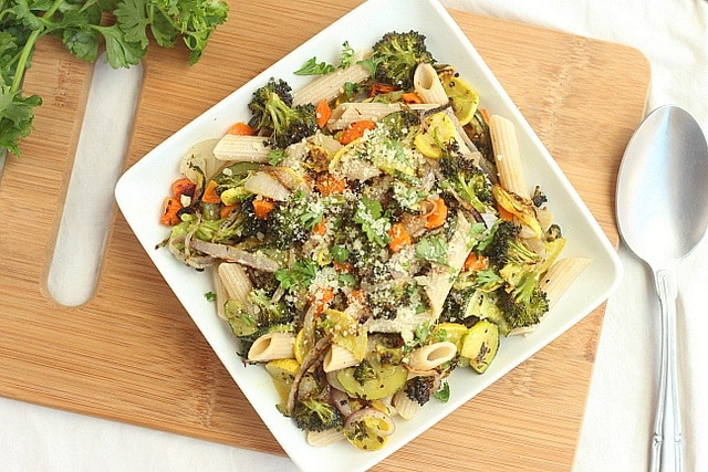 Roasted Vegetable Pasta Primavera 4