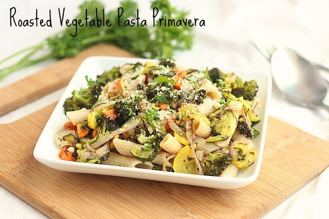 Roasted Vegetable Pasta Primavera