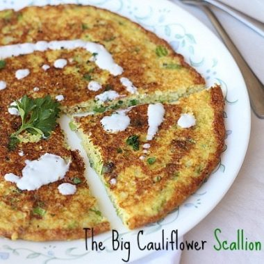The Big Cauliflower Scallion Pancake