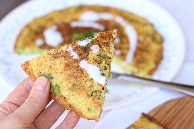 The Big Cauliflower Scallion Pancake 4