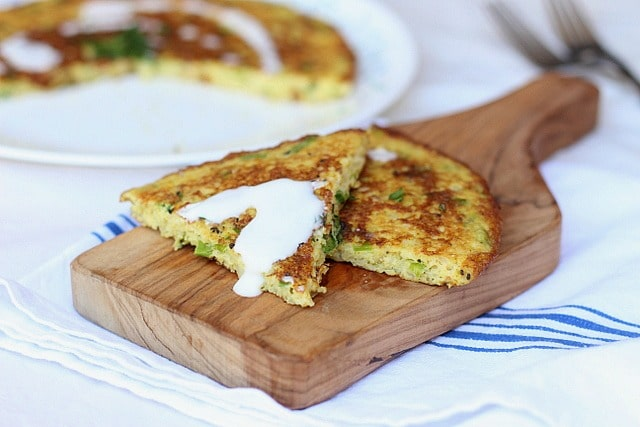 The Big Cauliflower Scallion Pancake 5