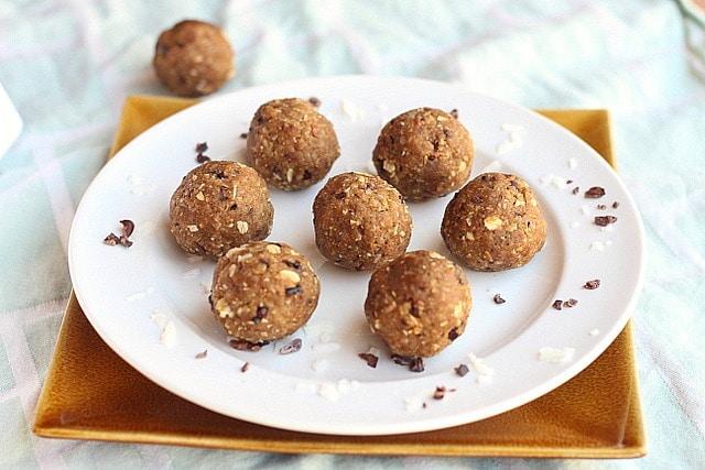 Peanut Butter Quinoa Energy Balls 2