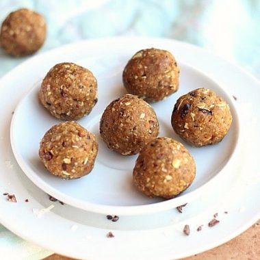Peanut Butter Quinoa Energy Balls
