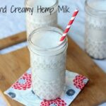 Rich and Creamy Hemp Milk