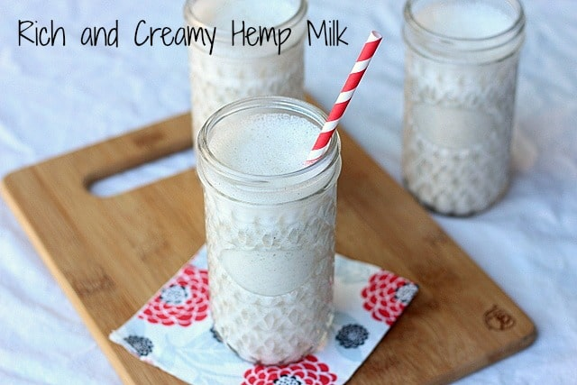 Rich and Creamy Hemp Milk