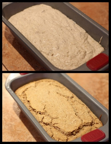 Homemade buckwheat flour bread recipe