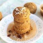 Apple Cinnamon Molasses Buckwheat Muffins