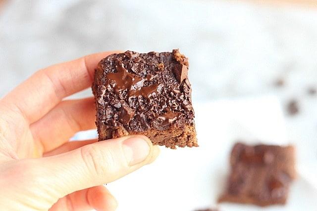 Oil-Free Black Bean Brownies (Lower Sugar)