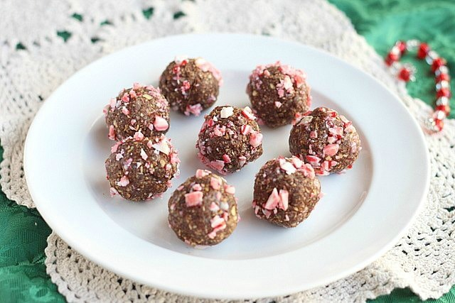 Cocoa Mint Bliss Balls