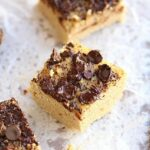 Coconut Chocolate Chunk Bars