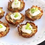 Flourless Muffin Cup Potato Latkes