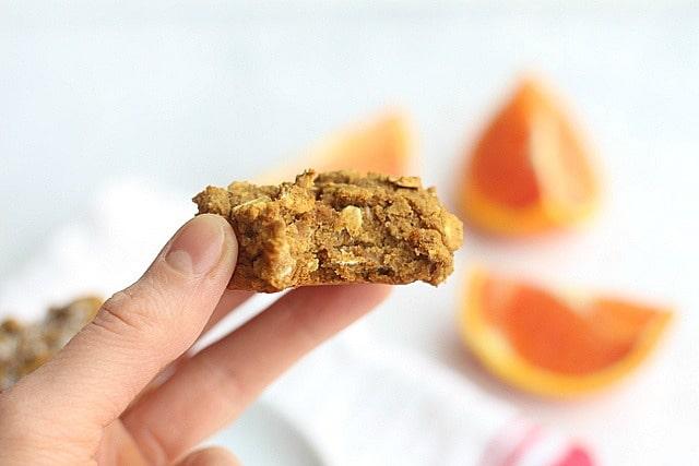 Low Sugar Breakfast Cookies