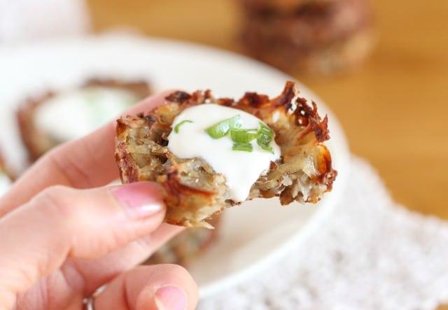 Potato latkes made without flour