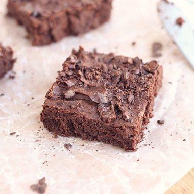 Fudgy Gluten-Free Sweet Potato Brownies