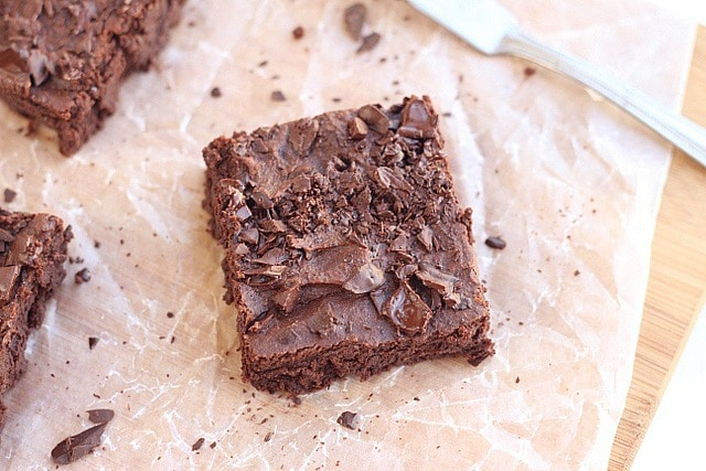 Fudgy Gluten-Free Sweet Potato Brownies
