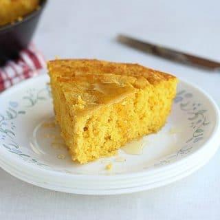 Sugar-Free, Corn-Free Sweet Potato Cornbread