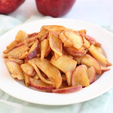 Gooey Sugar-Free Apple Pie Filling