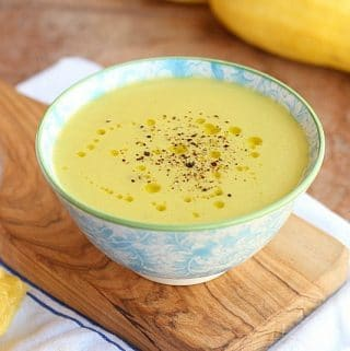 Lemon Thyme Summer Squash Soup