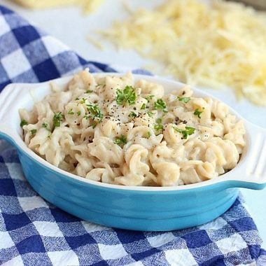 Gluten-Free Stovetop Mac and Cheese