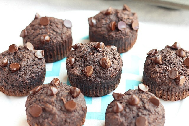 Honey chocolate muffins