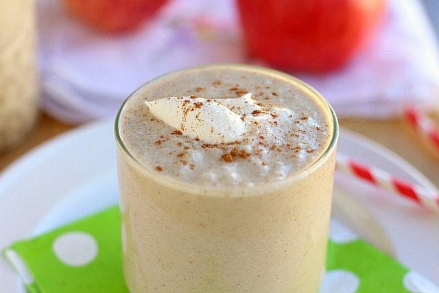 Apple cinnamon nutmeg smoothie recipe